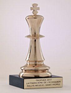 Trophée bronze pour La Financière de l'Échiquier