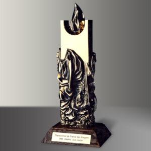 Trophée Monolithe ELF