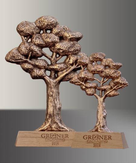 Trophée bronze écologie Kelutral 4