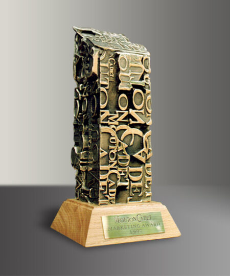 Trophée Monolithe Bronze Mouton-Cadet