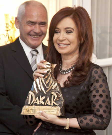 Trophée Dakar présidence Argentine