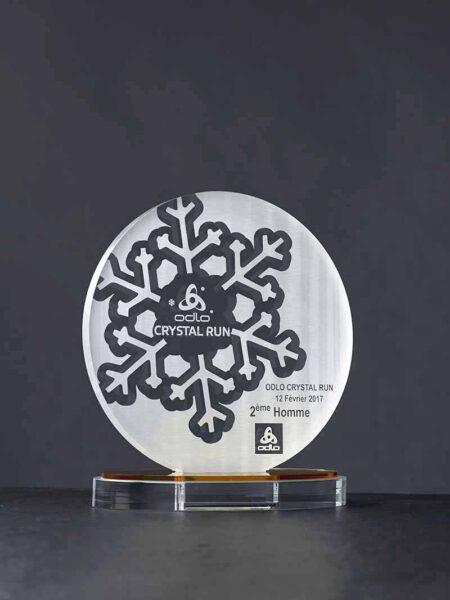 Trophée Alliance plexi gravé