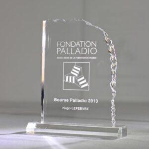 Trophée Plexi Cristal Stone