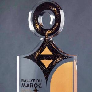 Trophée plexi Rallye du Maroc