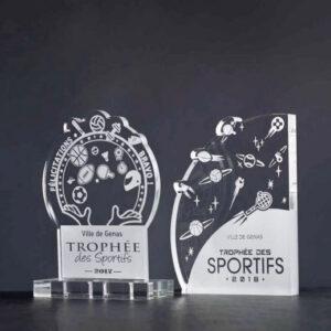 Trophée plexi des Sportifs