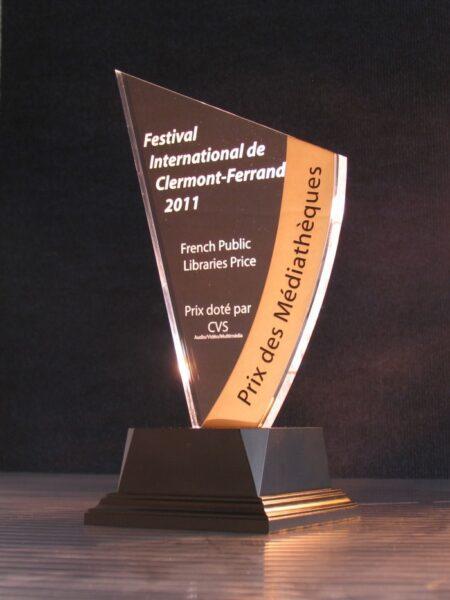 Trophée Oxala plexi et bronze